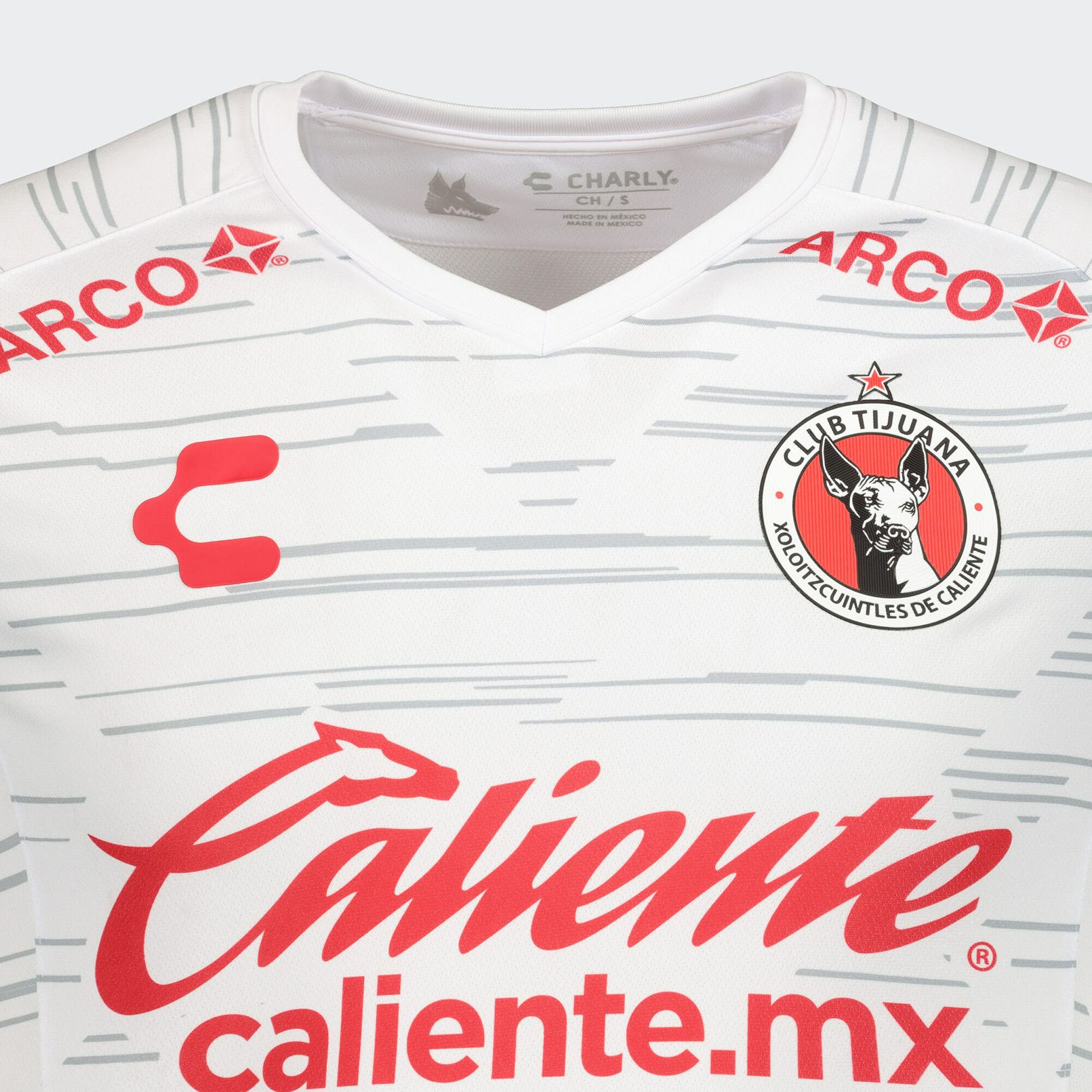 Camiseta visita de los Xolos de Tijuana 2019/20 | Imagen Charly