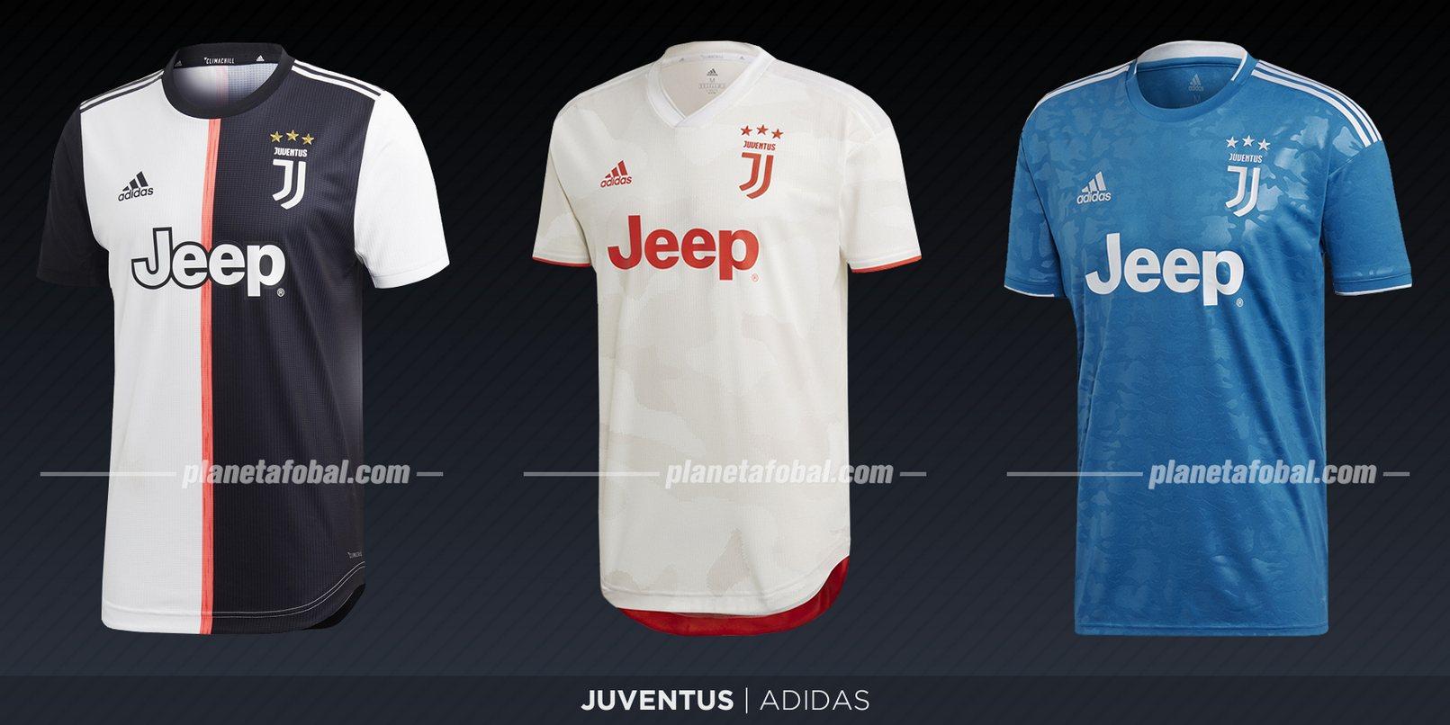 Juventus (Adidas) | Camisetas de la Serie A 2019-2020