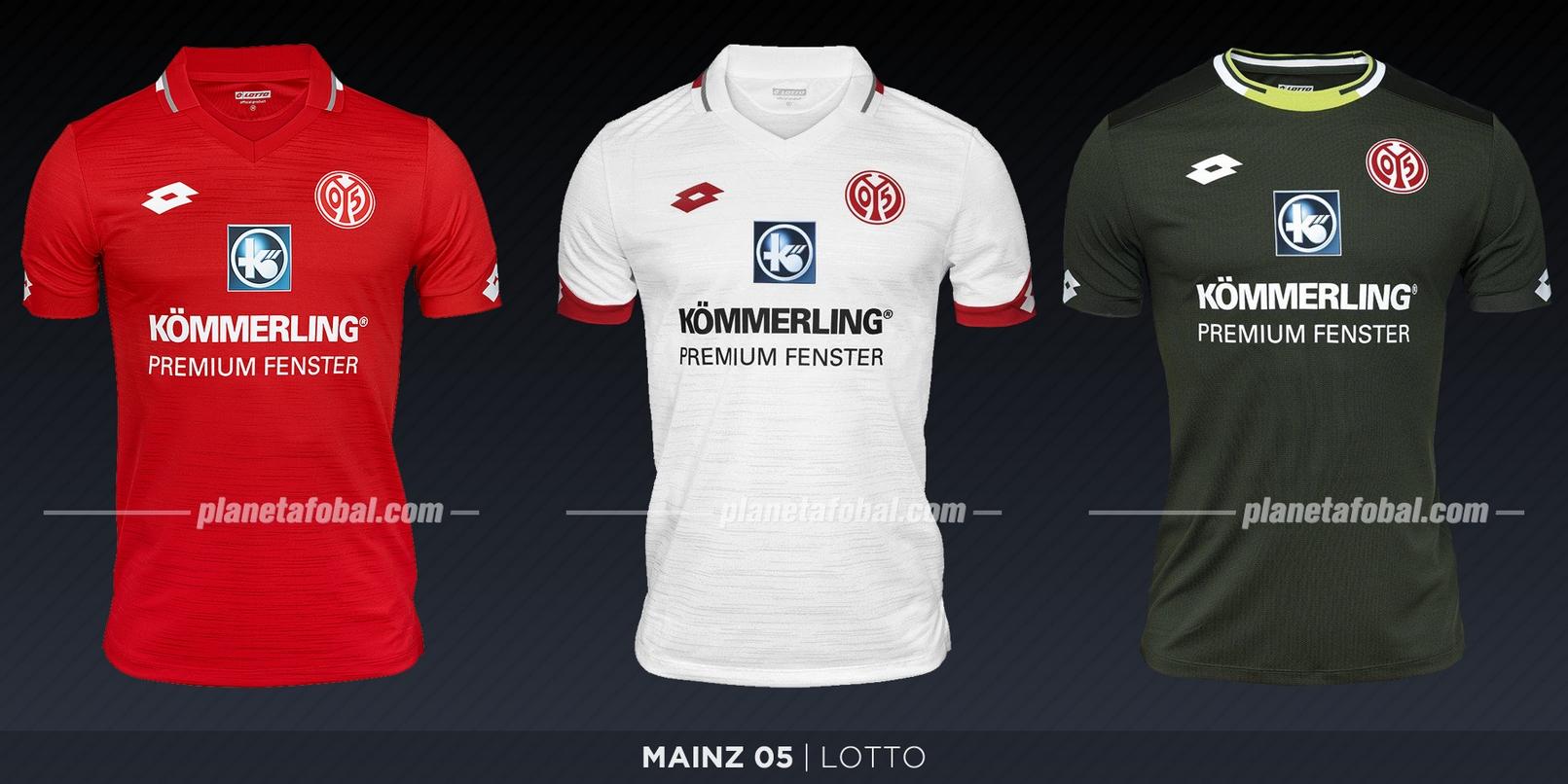 Mainz 05 (Lotto) | Camisetas de la Bundesliga 2019-2020