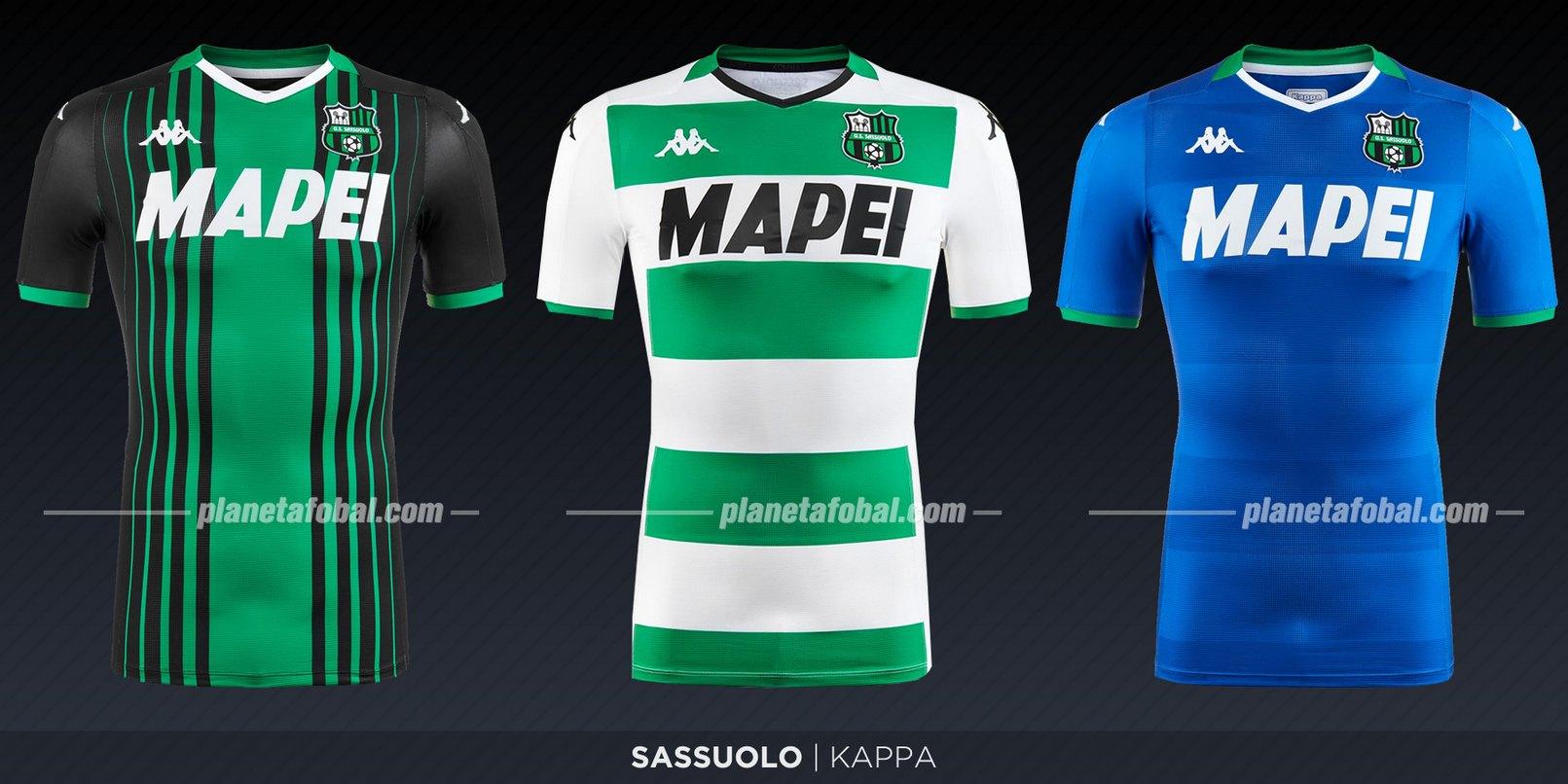 Sassuolo (Kappa) | Camisetas de la Serie A 2019-2020