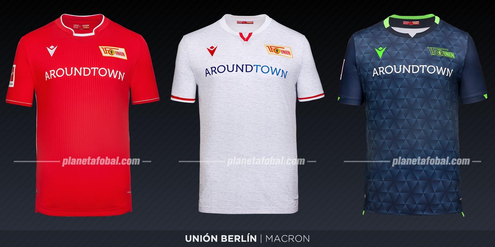 Unión Berlín (Macron) | Camisetas de la Bundesliga 2019-2020