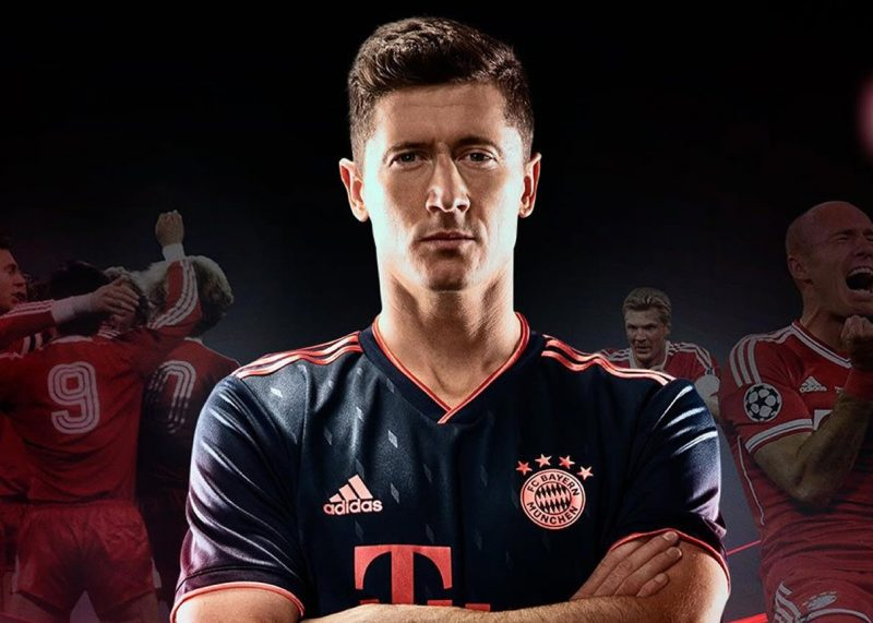 Tercera camiseta del Bayern Munich 2019/2020 | Imagen Adidas
