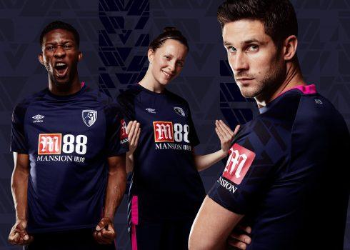 Camiseta suplente Umbro del AFC Bournemouth 2019/20 | Imagen Web Oficial