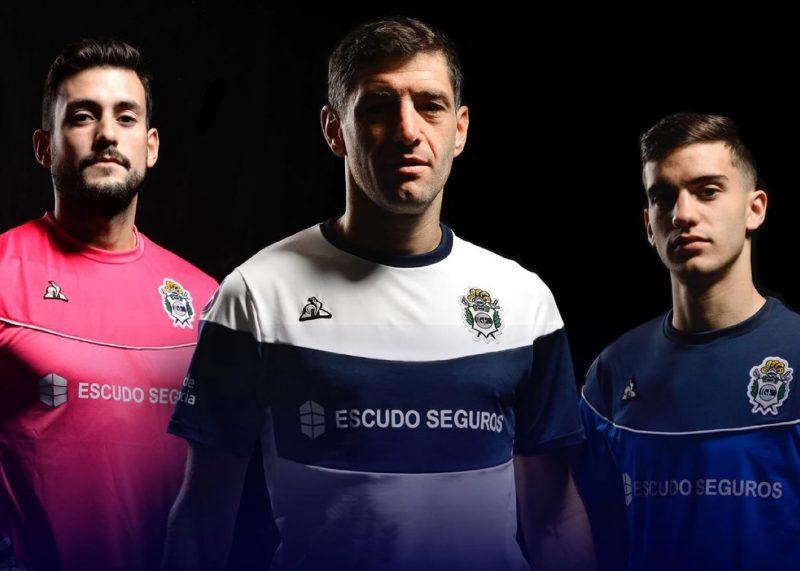 Camisetas le coq sportif de Gimnasia LP 2019/2020 | Imagen Web Oficial
