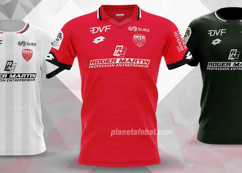 Camisetas Lotto del Dijon FCO 2019/20   Imagen Web Oficial