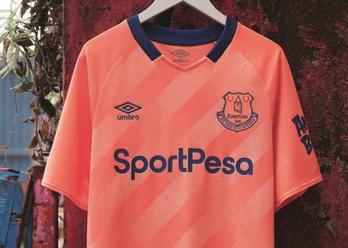 Camiseta suplente Umbro del Everton 2019/2020 | Imagen Web Oficial