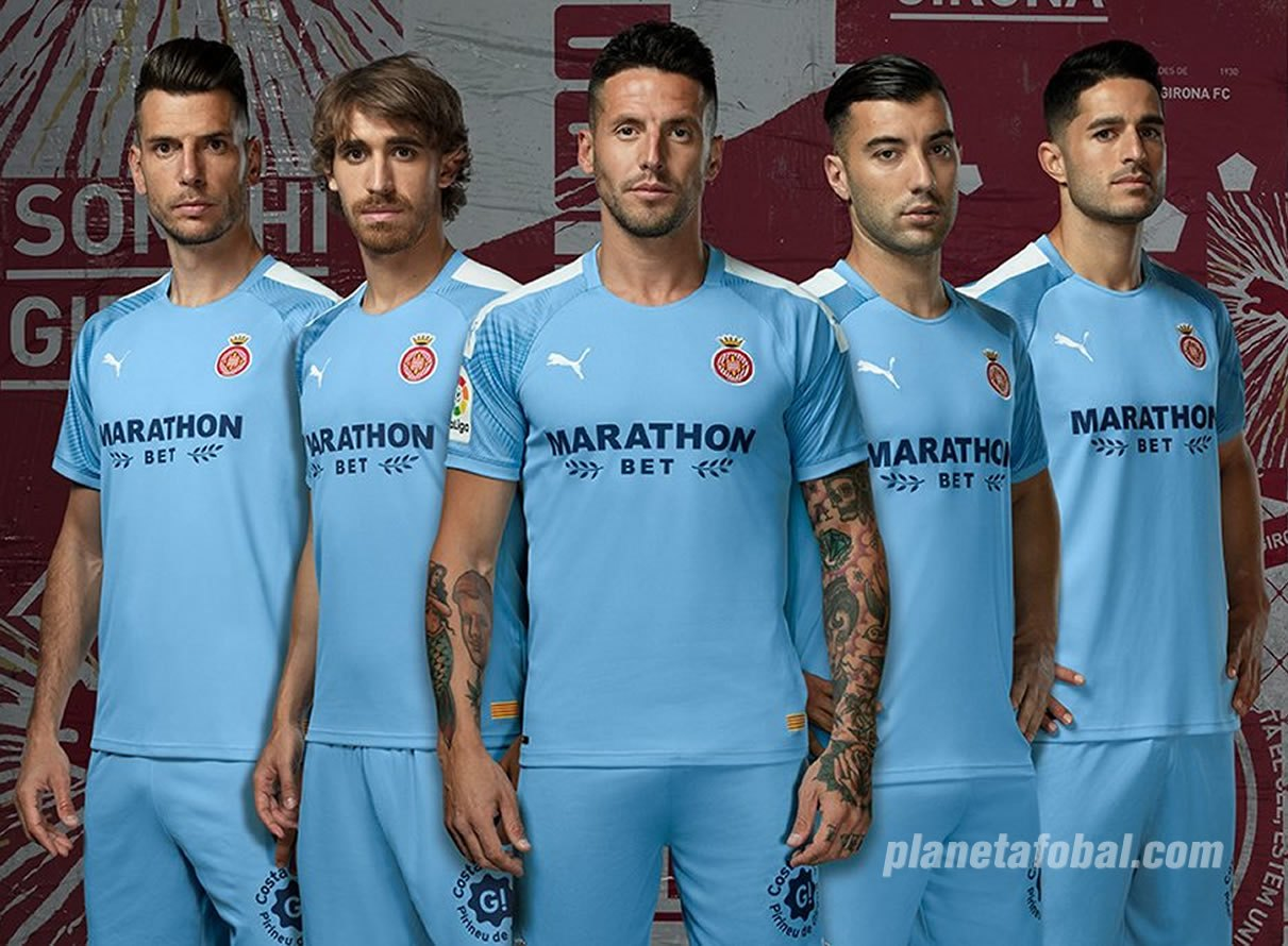 Segunda equipación Puma del Girona 2019/20 | Imagen Web Oficial