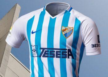Primera equipación Nike del Málaga 2019/20 | Imagen Web Oficial