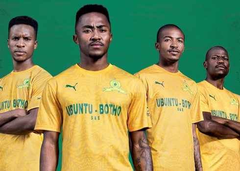 Camisetas Puma del Mamelodi Sundowns 2019/20   Imagen Web Oficial