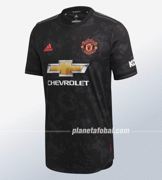 Tercera camiseta del Manchester United 2019/2020 | Imagen Adidas