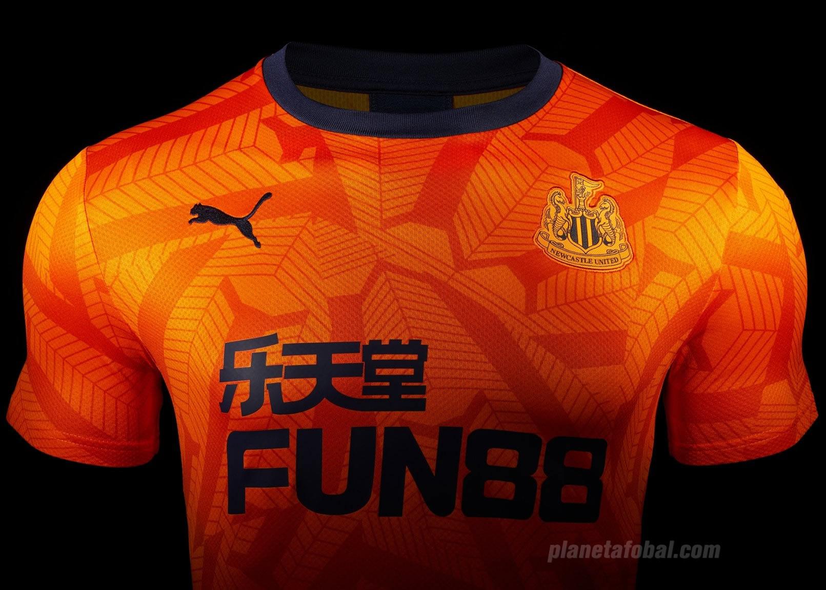 Tercera camiseta Puma del Newcastle 2019/20 | Imagen Web Oficial