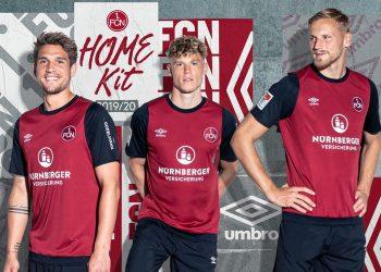 Camiseta Umbro del 1. FC Nürnberg 2019/20 | Imagen Instagram Oficial