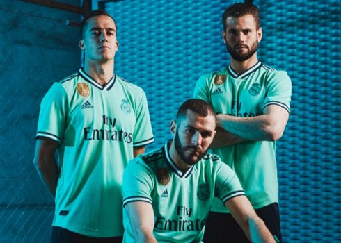 Tercera camiseta del Real Madrid 2019/2020 | Imagen Adidas