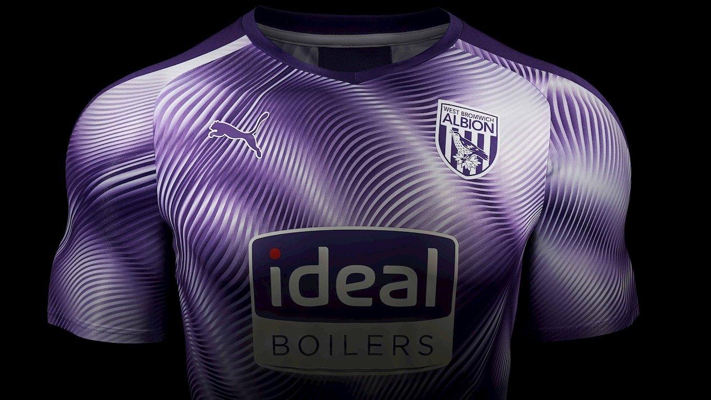 Tercera camiseta Puma del West Bromwich Albion 2019/20 | Imagen Web Oficial