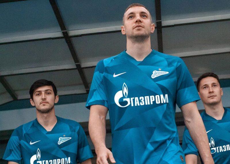 Camisetas Nike del Zenit 2019/20 | Foto Instagram Oficial