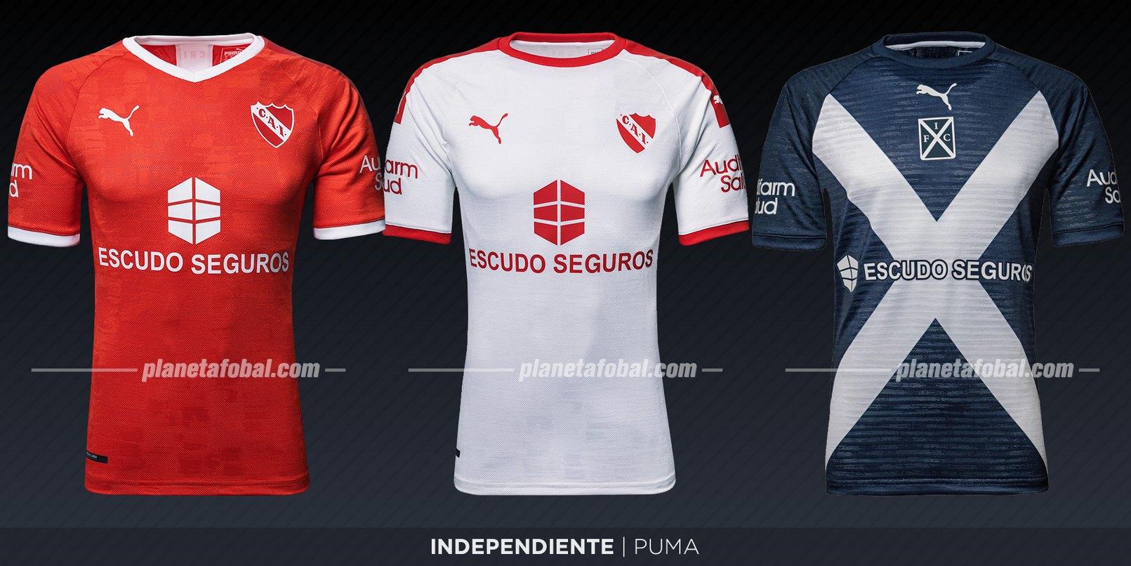 Indpendiente (Puma) | Camisetas de la Superliga 2019/2020