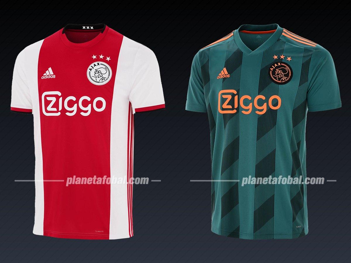 Ajax (Adidas) | Camisetas de la Liga de Campeones 2019/20