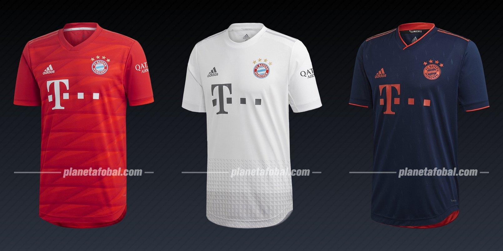 Bayern Munich (Adidas) | Camisetas de la Liga de Campeones 2019/20