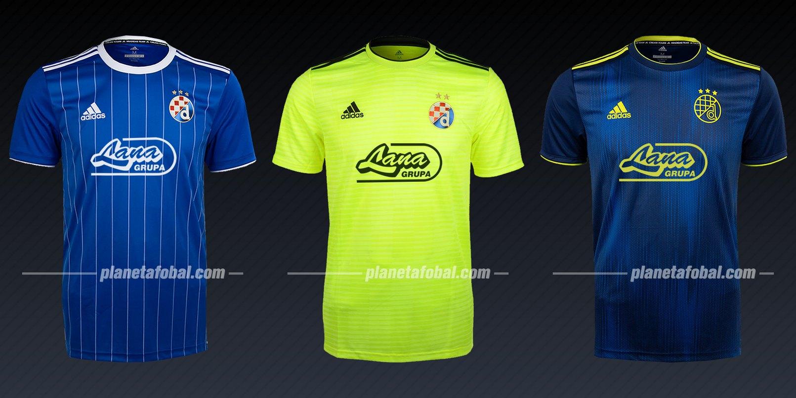 GNK Dinamo (Adidas) | Camisetas de la Liga de Campeones 2019/20