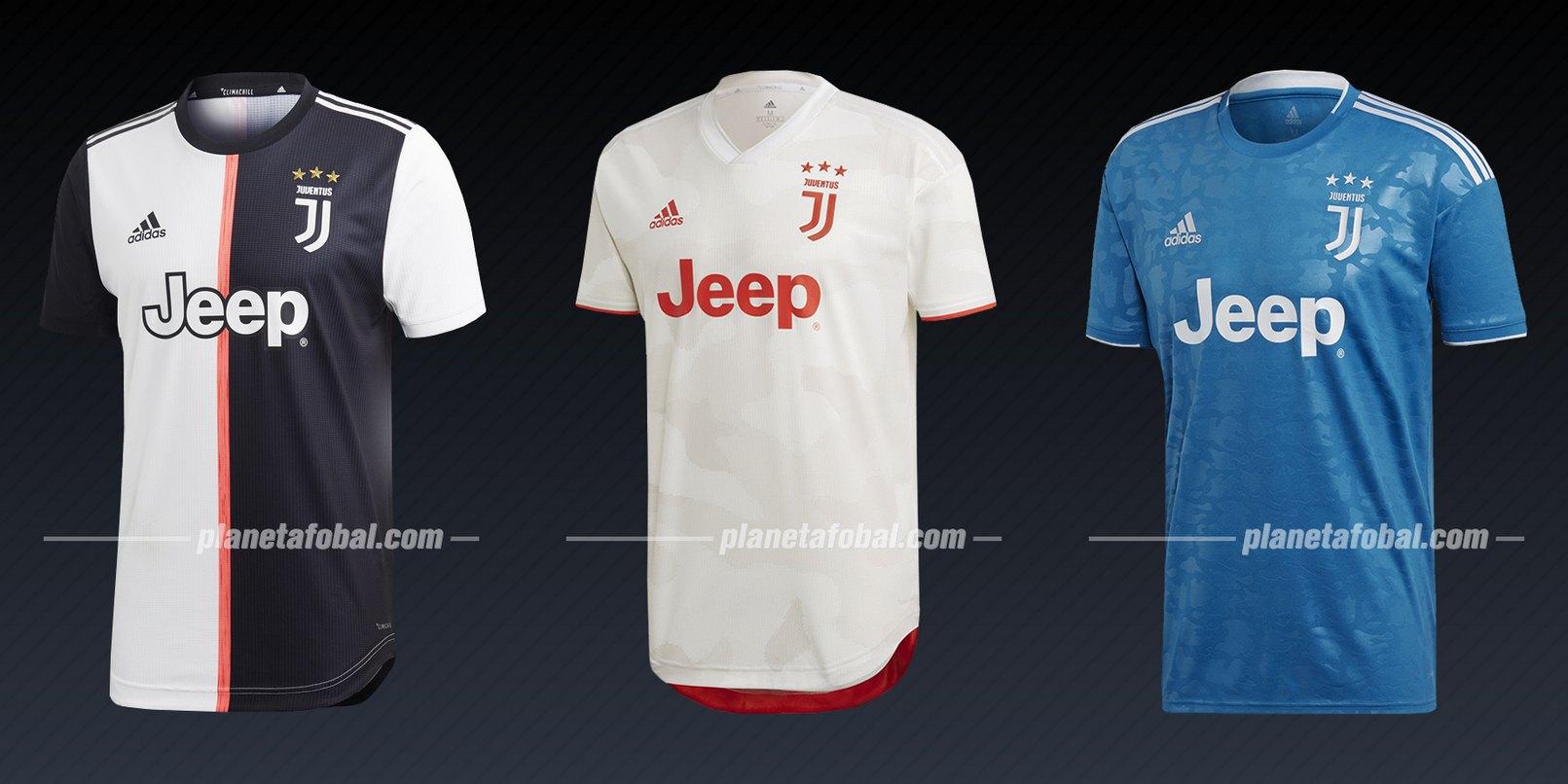 Juventus (Adidas) | Camisetas de la Liga de Campeones 2019/20