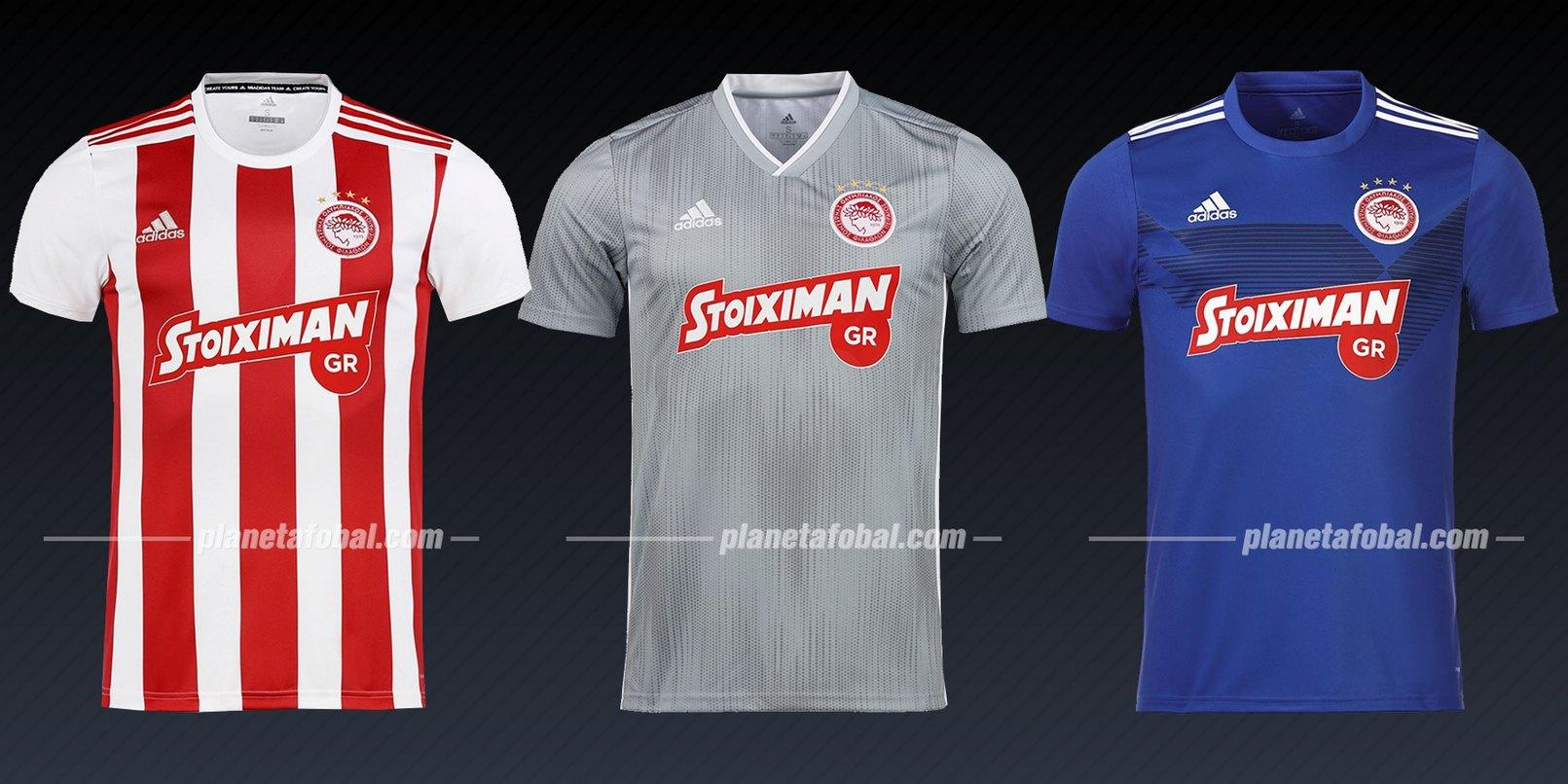 Olympiacos (Adidas) | Camisetas de la Liga de Campeones 2019/20