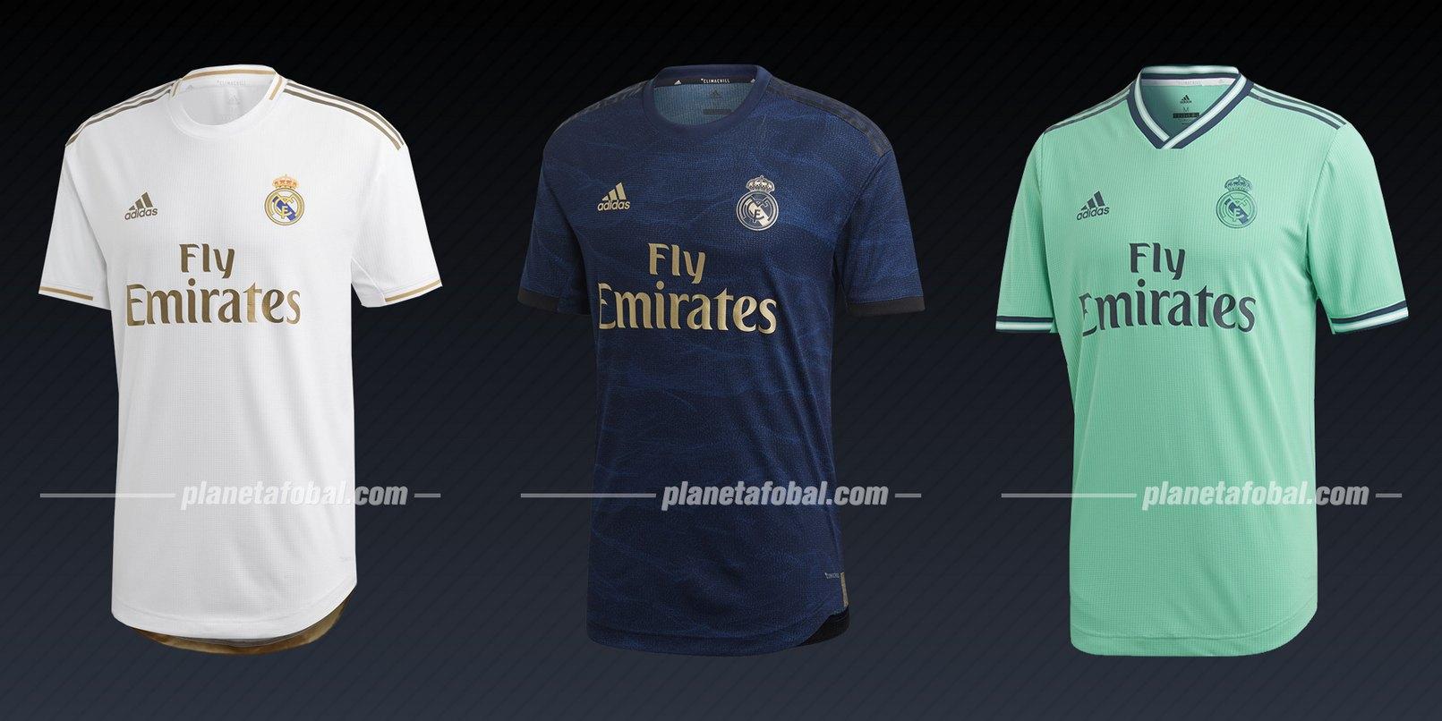 Real Madrid (Adidas) | Camisetas de la Liga de Campeones 2019/20
