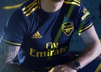Tercera camiseta del Arsenal Temporada 2019/2020 | Imagen Adidas