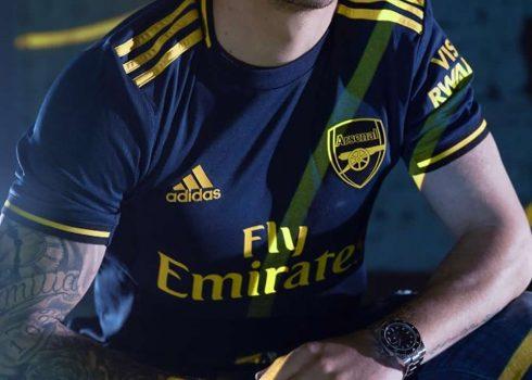 Tercera camiseta del Arsenal Temporada 2019/2020   Imagen Adidas