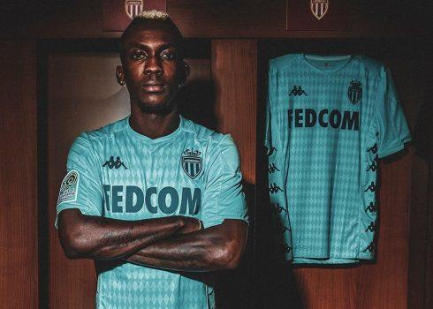Tercera camiseta Kappa del AS Monaco 2019/2020 | Image Web Oficial