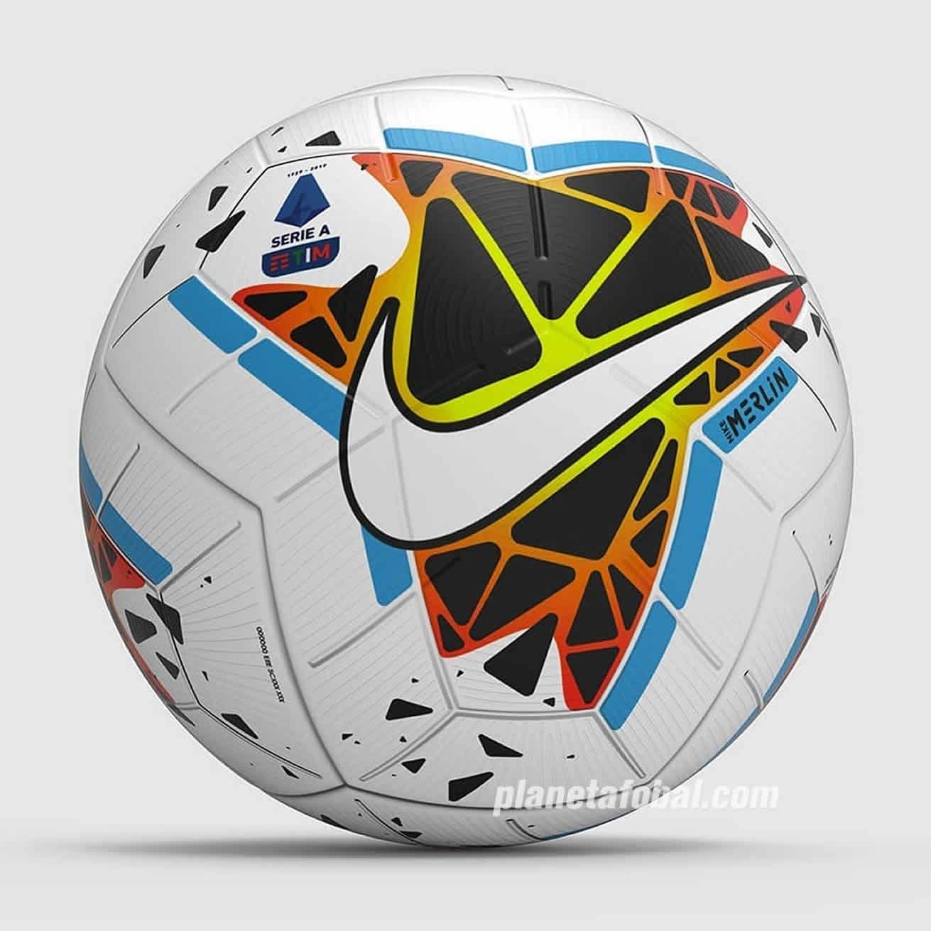 Balón Nike Merlin Serie A 2019/2020 | Imagen Web Oficial