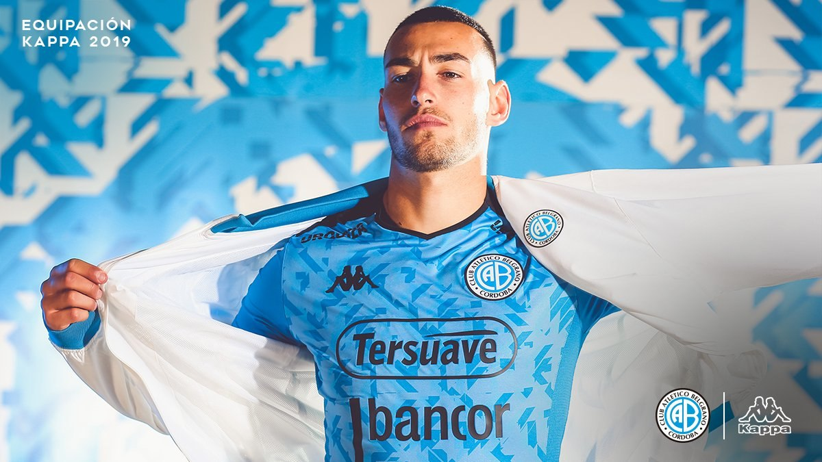 Camiseta Kappa de Belgrano de Córdoba 2019/2020 | Imagen Web Oficial