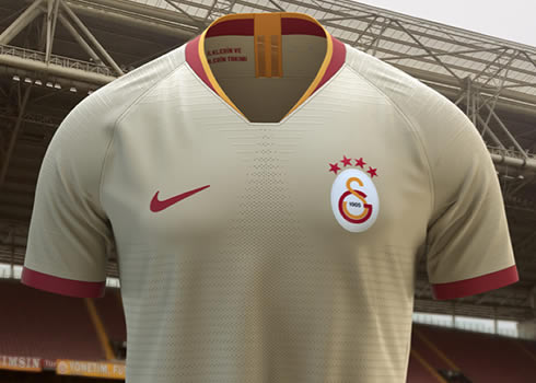 Camiseta suplente del Galatasaray 2019/20 | Imágenes Nike