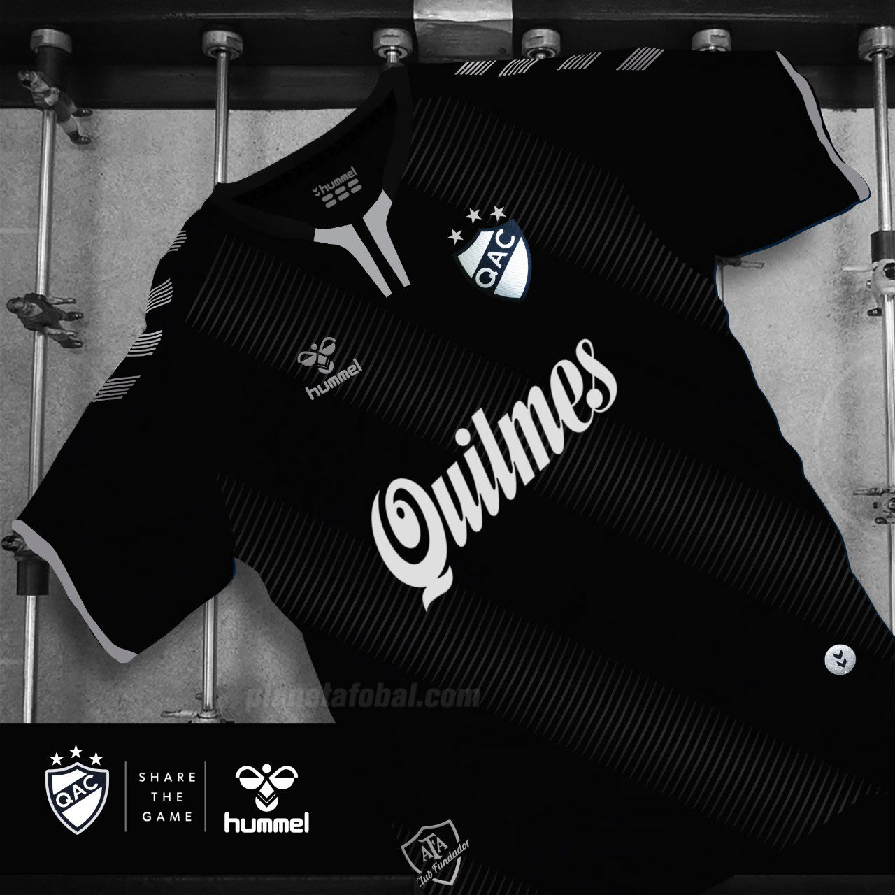 Camisetas Hummel de Quilmes 2019/2020 | Imagen Twitter Oficial