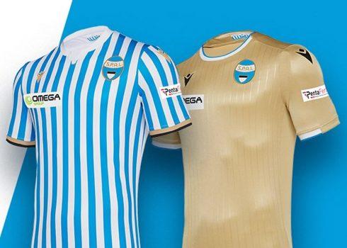 Camisetas del SPAL Ferrara 2019/20 | Imagen Macron