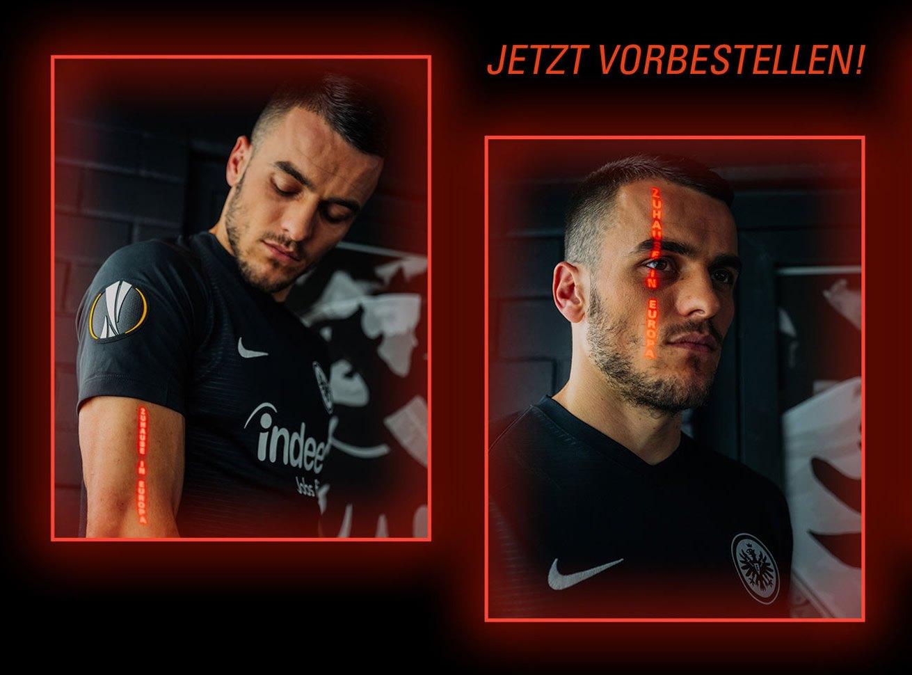 Camiseta Nike del Eintracht Frankfurt Europa League 2019/20 | Imagen Web Oficial