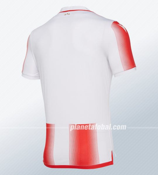 Camisetas del Estrella Roja 2019/20 | Imagen Macron