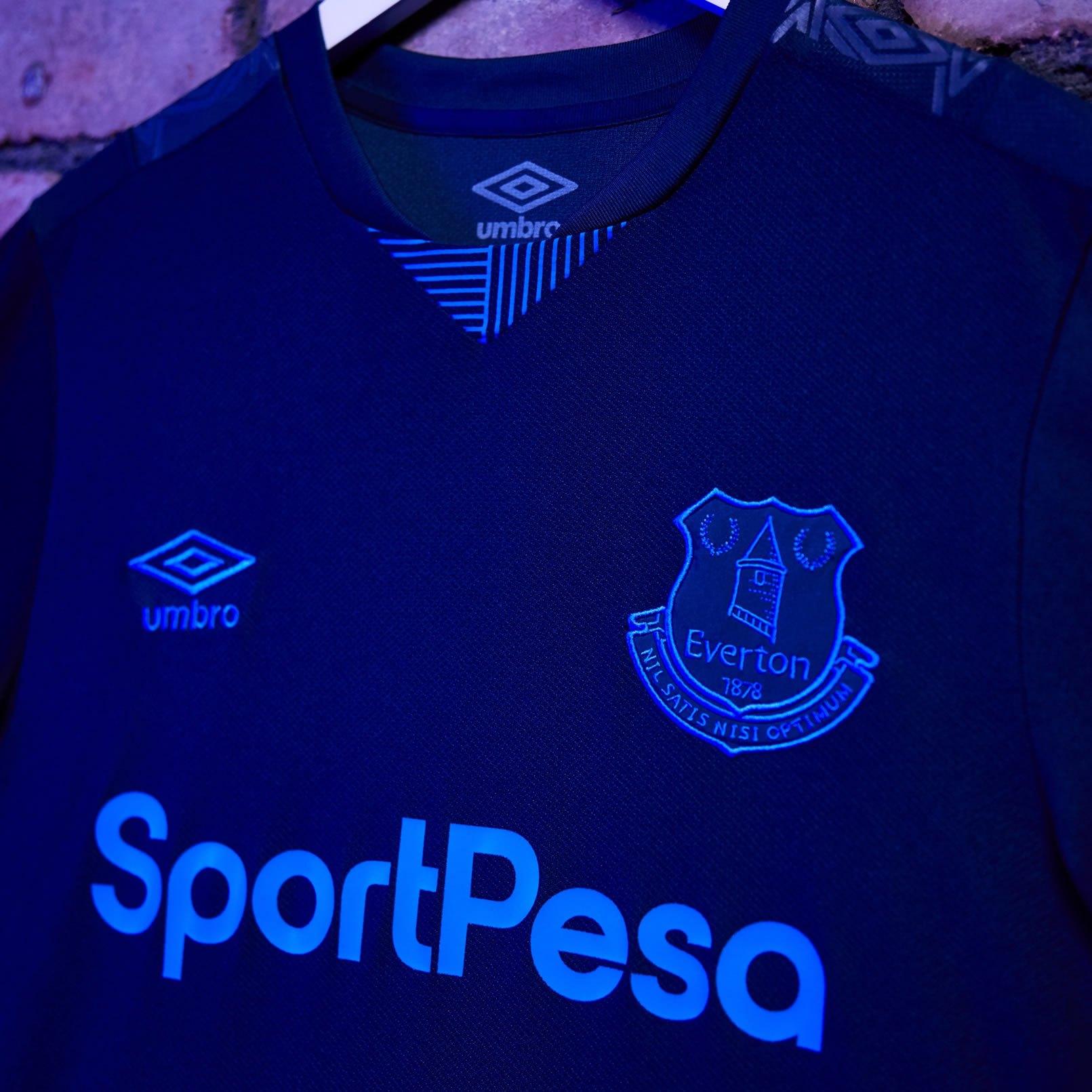 Tercera camiseta Umbro del Everton 2019/2020 | Imagen Twitter Oficial