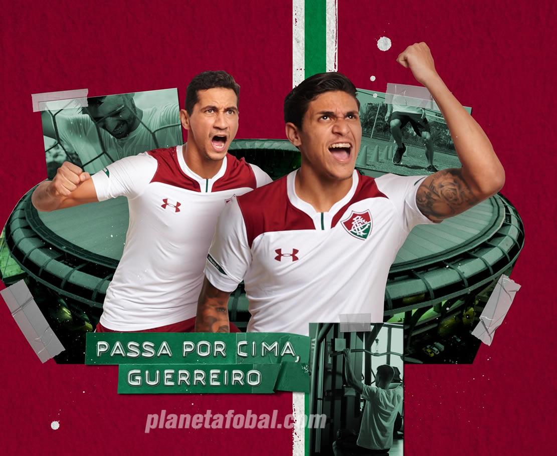 Camiseta suplente del Fluminense 2019/20 | Imagen Under Armour
