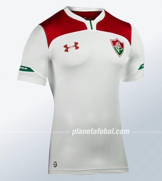Camiseta suplente del Fluminense 2019/20   Imagen Under Armour