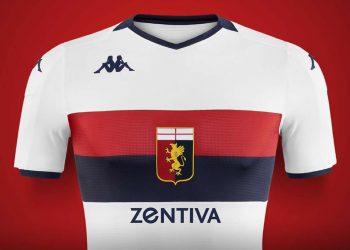 Camiseta suplente del Genoa CFC 2019/20 | Imagen Kappa