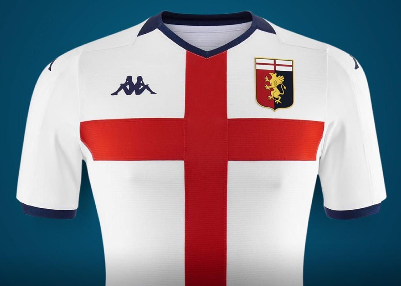 Corbata Edición frase  Tercera camiseta Kappa del Genoa CFC 2019/20