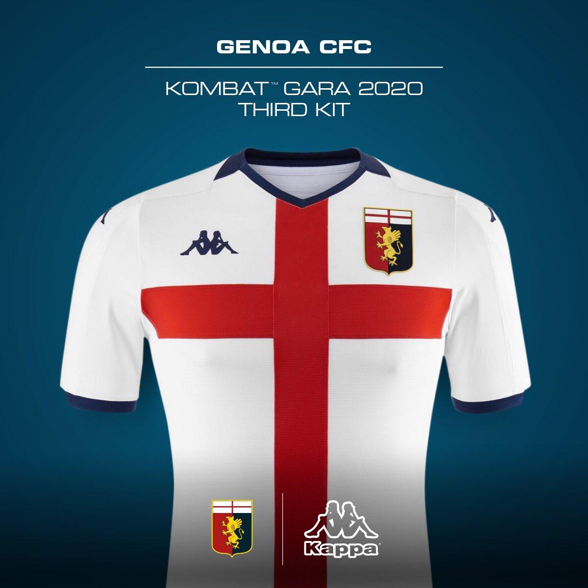 Tercera camiseta Kappa del Genoa CFC 2019/20 | Imagen Instagram Oficial