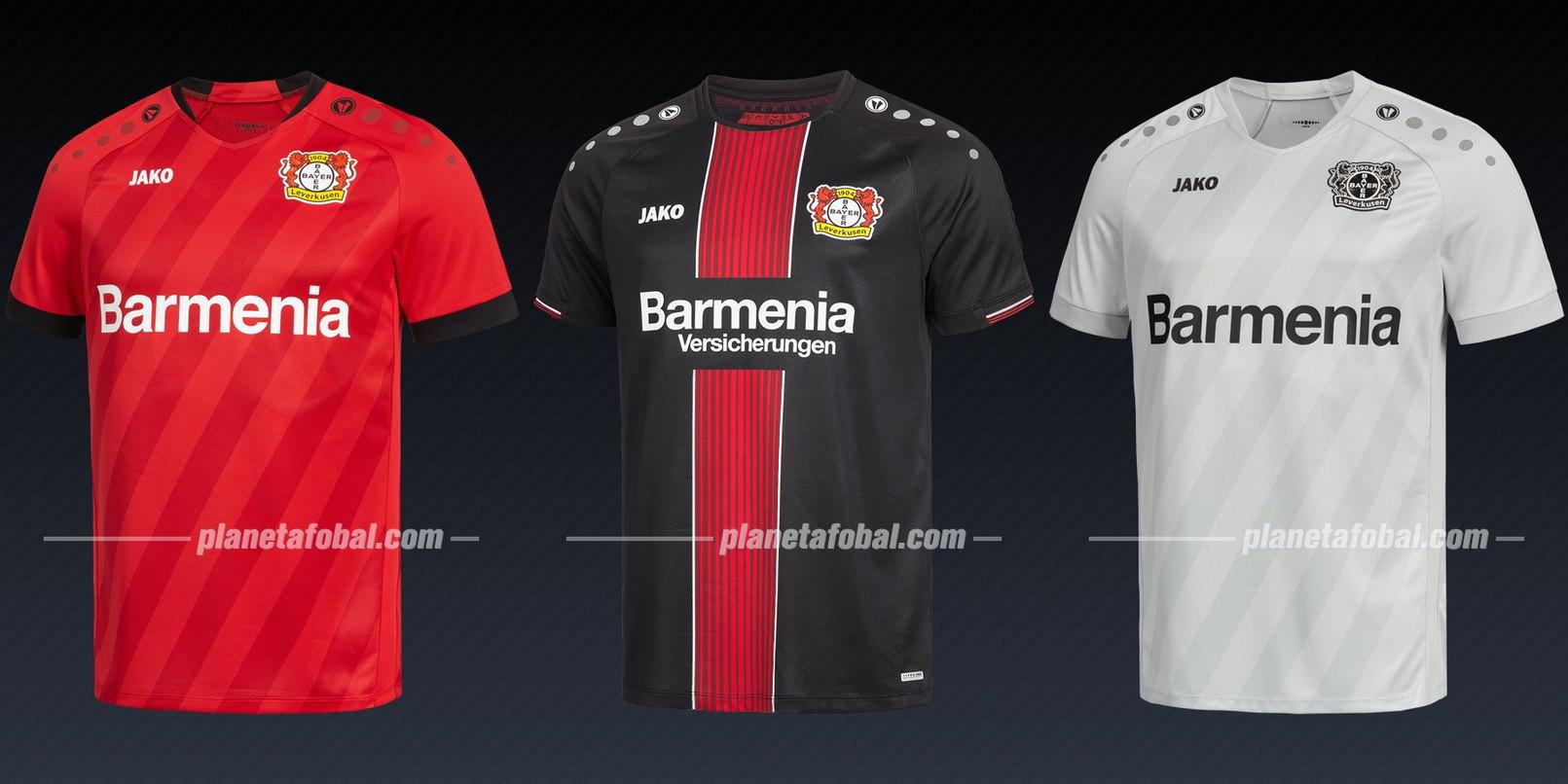 Bayer 04 (Jako) | Camisetas de la Liga de Campeones 2019/20