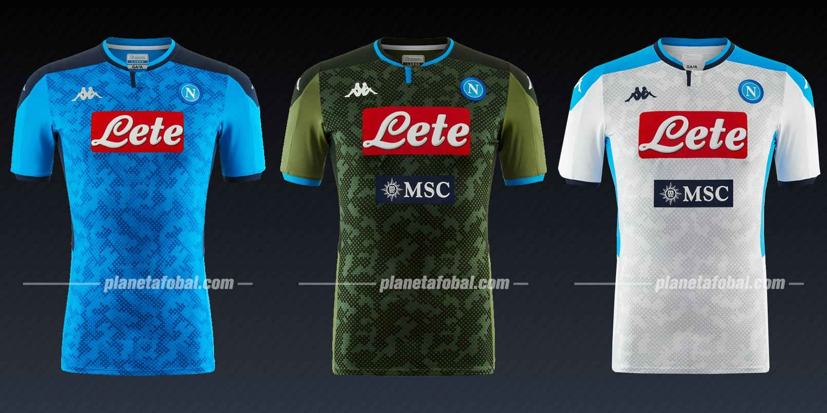 Napoli (Kappa) | Camisetas de la Liga de Campeones 2019/20