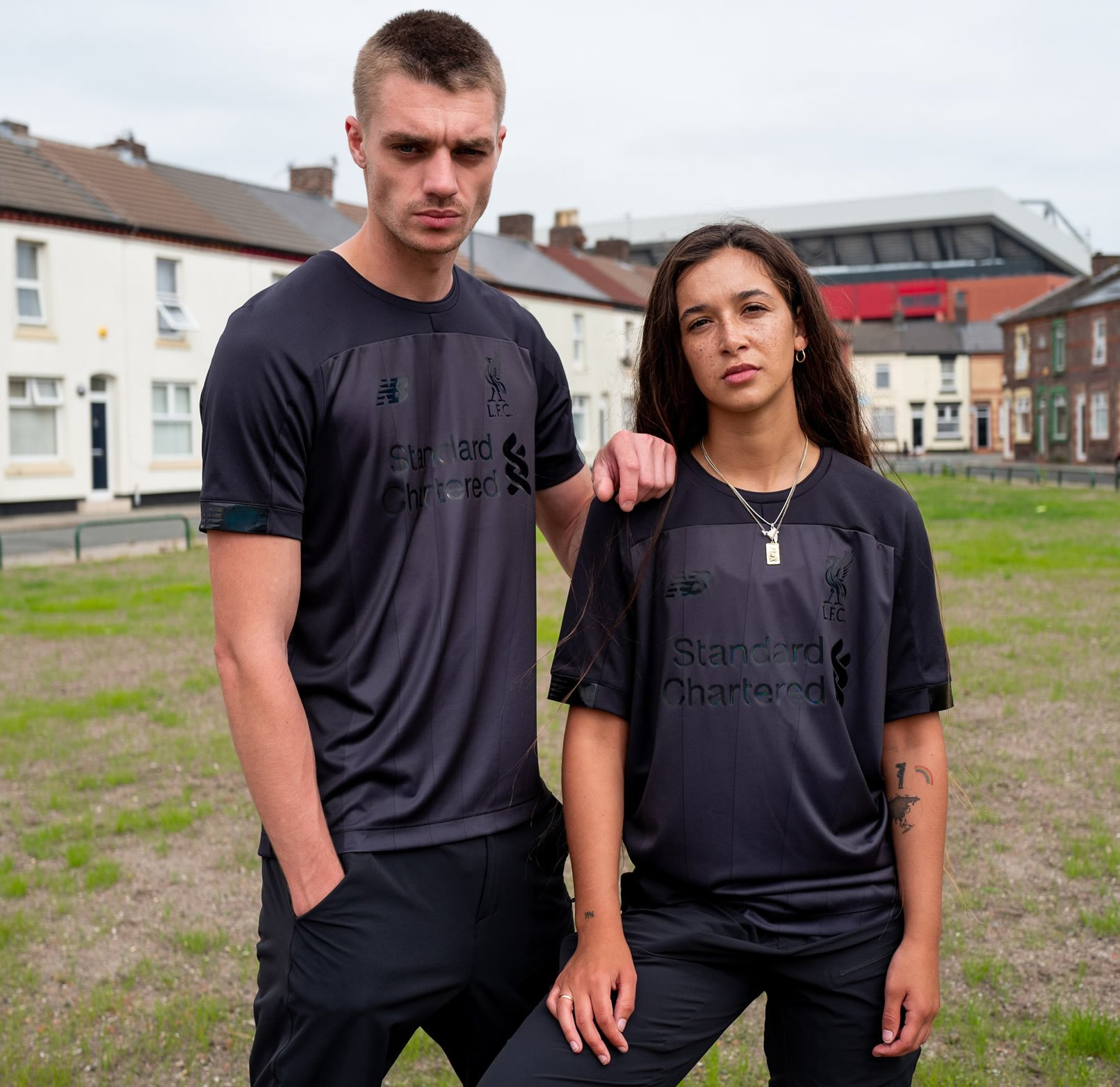 "Camiseta ""Blackout"" del Liverpool 2019/20 