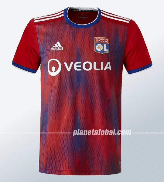 Tercera camiseta Adidas del Lyon 2019/2020 | Imagen Web Oficial