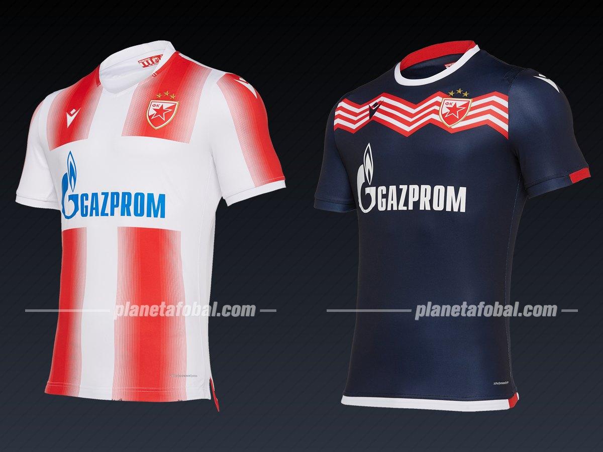 Estrella Roja (Macron) | Camisetas de la Liga de Campeones 2019/20