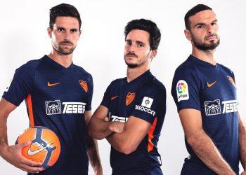 Camiseta suplente Nike del Málaga 2019/20 | Imagen Web Oficial