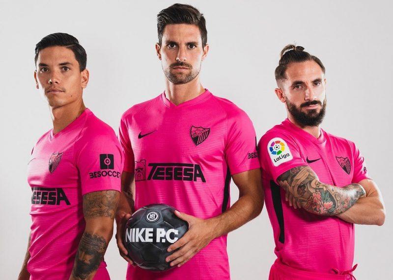 Tercera camiseta Nike del Málaga 2019/20 | Imagen Instagram Oficial