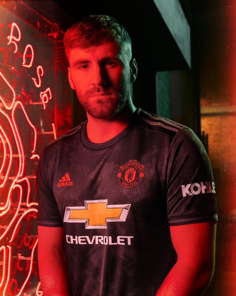 Tercera camiseta Adidas del Manchester United 2019/2020 | Imagen Instagram Oficial